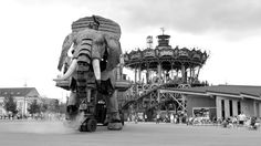 Le Grand Éléphant des Machines de l'Île [NANTES, Loire-Atlantique, Pays de la Loire, FRANCE]