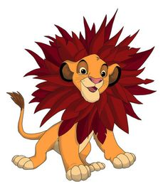 Young Simba TLK - lion-cubs Fan Art