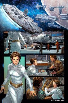 Star Wars: Han Solo #1 art by Mark Brooks