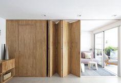 Come arredare una casa piccola con una parete a scomparsa - Elle Decor Italia