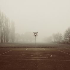 Fog Basketball #Photography