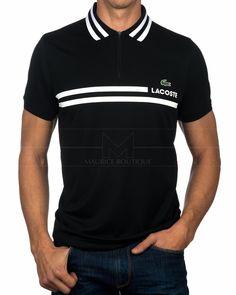 Polos LACOSTE ® Sport - Negro & Blanco | ENVIO GRATIS