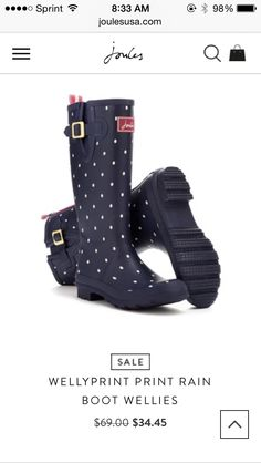 Original Tall Rain Boots | Hunter Boot Ltd Navy or black Size 9.5 ...