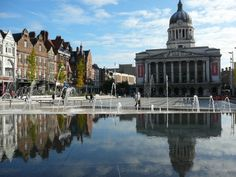 Nottingham - well not exactly a holiday but I will always be a Nottingham girl