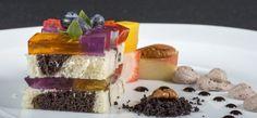 porzselatin, lapzselatin, zselatin fix Panna Cotta, Cheesecake, Ethnic Recipes, Dulce De Leche, Cheesecakes, Cherry Cheesecake Shooters