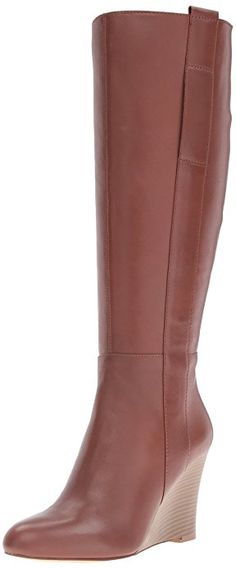 1a1387f7957 Nine West Women s Orsella Leather Knee-High Boot