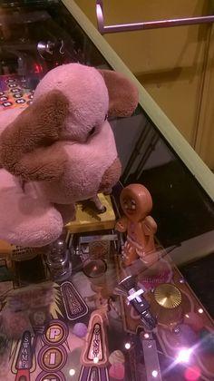 Tux batendo um Papo com o Biscoito
