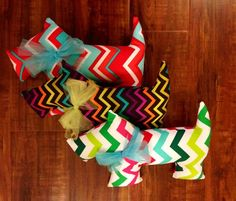 Chevron Kayleighkins Dog by fluffygirlboutique on Etsy, $15.99