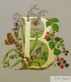 The letter B, sketch inspiration
