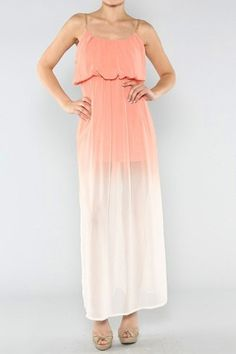 Sunset Ombre Maxi Dress