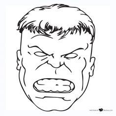 Hulk: Invitaciones para Imprimir Gratis.  HULK ...