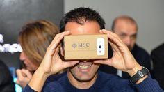 Invece d'essere sfogliato si guarda attraverso una piccola scatola di cartone che va applicata a uno smartphone e dev'essere indossata sul volto