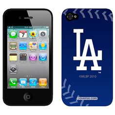 Los Angeles Dodgers iPhone® and iPod Touch® Stitch Logo Protective Case: $29.99