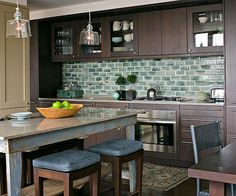 Install a Colorful Tile Backsplash