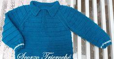 Fashion Kids, Weaving Patterns, Turtle Neck, Chanel, Knitting, Sweaters, Design, Baby Boy Cardigan, Toddler Cardigan