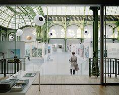 LAN architecture grand palais restoration in paris, france