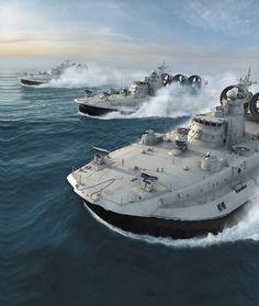 Zubr Class LCAC Hovercraft ~ Gear Patrol
