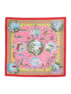 Hermes scarf Ballade de Heian