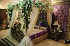 Bedroom Decoration Ideas For Wedding Night Is One Of The Most Attractive Function In Decorating Id