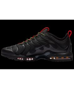 new product f7a27 d72ad Nike Air Max Plus Tn Ultra Black Anthracite Red Volt Nike Air Max Plus, Nike