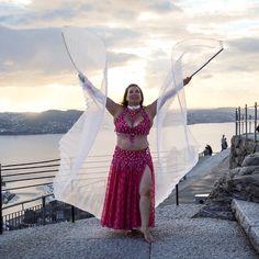 Karma with isis-wings on Mount Fløien Costume by: Şaban Gök Photo: Monica