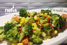 Zeytinyağlı Brokoli Salatası Tarifi nasıl yapılır? 1.317 kişinin defterindeki bu tarifin resimli anlatımı ve deneyenlerin fotoğrafları burada. Yazar: Elif Deniz