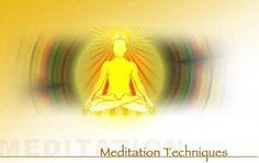 Sitting meditation techniques.