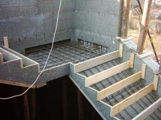 Опалубка для лестницы. Как сделать опалубку для бетонной лестницы?