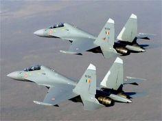 Sukhoi Su-30 MKI Indian AF Flight of Two