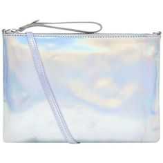 Accessorize Accessorize Claudia Holographic Leather Crossbody Bag (125 BRL) ❤ liked on Polyvore featuring bags, handbags, shoulder bags, leather shoulder handbags, holographic purses, genuine leather crossbody handbags, genuine leather handbags and genuine leather purse