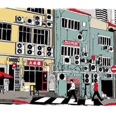 Cliff Mills - Conceptual Rendering Illustrator
