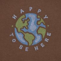 Happy to be Here Earth! Love this shirt! Earth! What a fabulous planet! #Lifeisgood #Dowhatyoulike