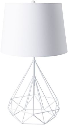 Fuller White Table Lamp