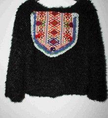 Chaqueta étnica Boho, Hippy, Sweaters, Fashion, Hippie Clothing, Jackets, Moda, Fashion Styles, Bohemian