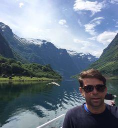 Naeroyfjord - Fiordes na Noruega 2016 atravessando de barco