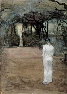 The Athenaeum - The Cult of Venus (1895) (Magnus Enckell - )