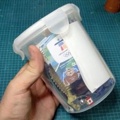 Great instructions on how to make a time capsule. I like the idea of making one every school year to be opened at graduation.