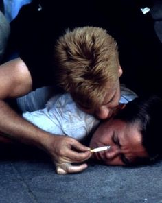 River Phoenix & Kiefer Sutherland ~ Stand By Me