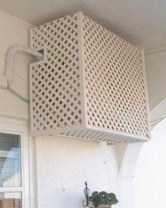 24 Ideas Para Ocultar El Aire Acondicionado Ocultar El Aire Acondicionado Aire Acondicionado Acondicionado