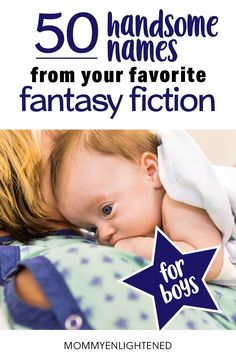 Fantasy baby names for boys can be a little strange - so we found the ones that make CUTE names from your favorite fantasy fiction series. Pregnancy Health, First Pregnancy, Baby Health, Pregnancy Tips, Baby Girl Names, Boy Names, Baby Boy, Pregnancy Planning Resources, Names With Nicknames