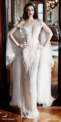 Elihav Sasson 2016 Wedding Dress