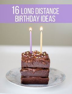 The best birthday ideas for friends and family who live far away!