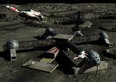 Gerry Andersons UFO was one of my favourite shows when I was a kid. I loved that show!     This is that cool-looking Shado Moonbase with 3 interceptors taking off on one of their missions ... Just my interpretation, of course, and not meant to be canon. :)    This picture was done by me on my computer using several different 3D programs, including Poser, Bryce, Ulead 3D Pro, and 3DS Max.    The buyer can expect to receive a print done on HIGH QUALITY PREMIUM GLOSSY PAPER - 260-280GSM. The…