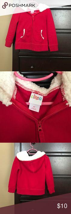 Little girls Christmas/ santa jacket Adorable Christmas jacket! Size 4t. Brand is circo Circo Jackets & Coats