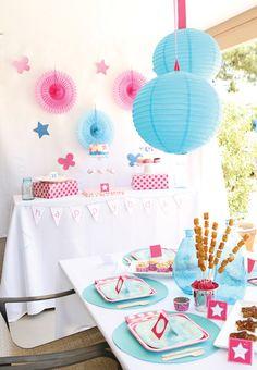 Simple & Sweet American Girl Birthday Party