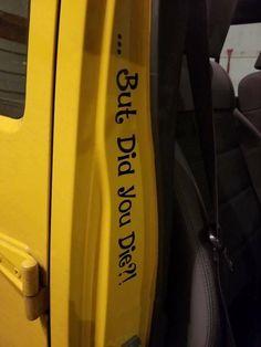 Car window decal truck outdoor sticker choo choo diesel train soot
