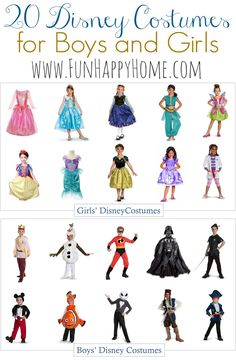 You'll love these Disney Costumes for Kids! Your kids will love these Disney Halloween Costumes! Disney Costumes for Boys & Disney Costumes for Girls!