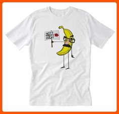 Barn Eleven Banana Not a Tasty Fruit T-Shirt, Medium, White - Cool and funny shirts (*Amazon Partner-Link)