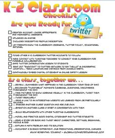 Twitter for k-12 Classes Simplified-might use to help teach Close Notes.