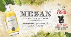 Paris Food & Drink Events: Mezan Rum – Cocktail & Tasting